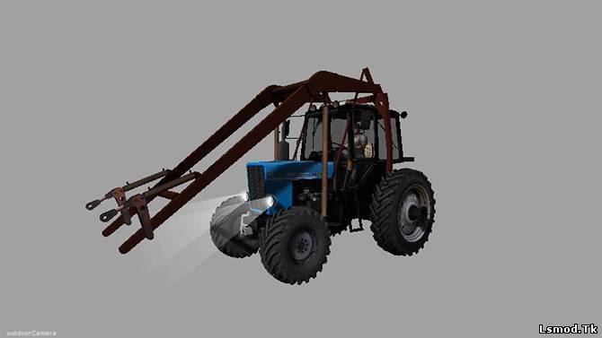 Продажа тракторов погрузчиков на МТЗ 82
